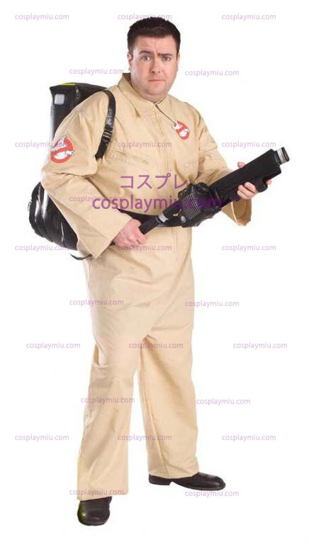 Ghostbuster Plus Size Adult Kostymer