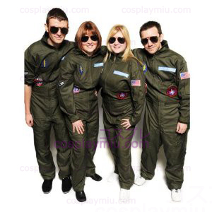 Top Gun kostyme fest Flight Suit