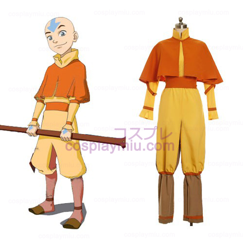 Avatar The Last Airbender Cosplay Aang Kostymer