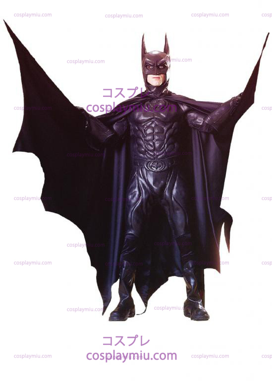 Batman Fra 1997 Movie Deluxe Adult Kostymer