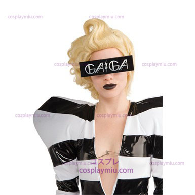 Lady Gaga Glasses - Svart Print