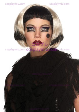 Lady Gaga Black / Blonde Wig