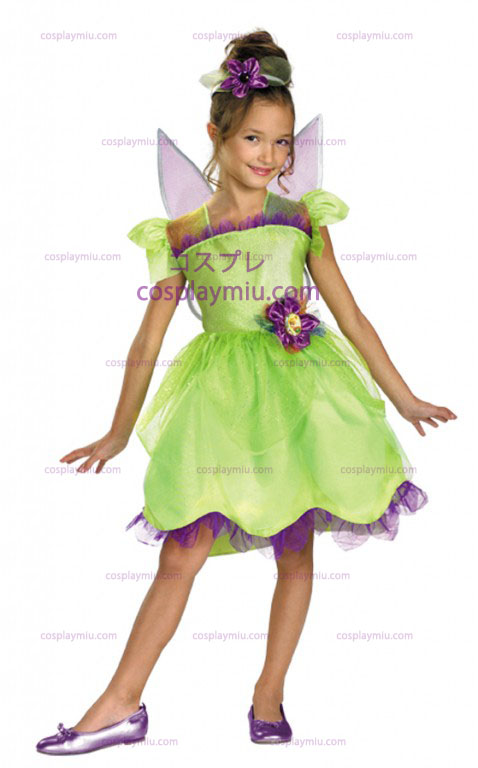 Tinker Bell Rainbow Toddler and Child Kostymer