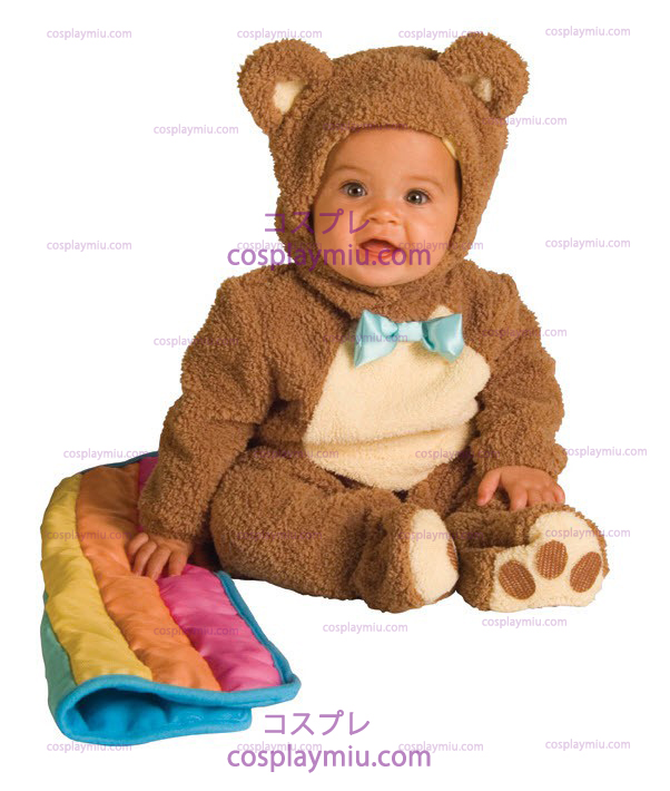 Teddybear Rainbow Infant Kostymer