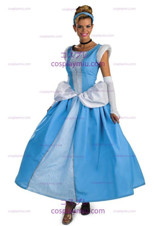 Prestige Adult Cinderella Dress Kostymer