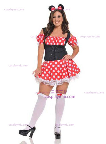 Mickey Mistress Plus Size Adult Kostymer