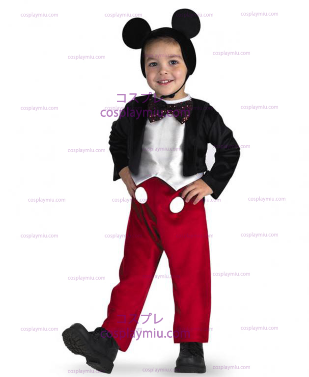 Mickey Mouse Deluxe Child Kostymer