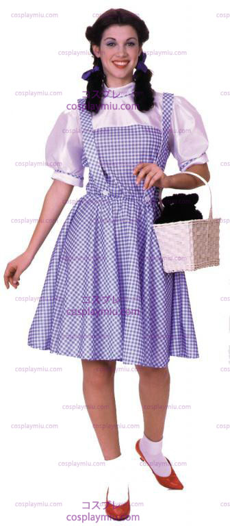 Wizard Of Oz Dorothy Adult Kostymer