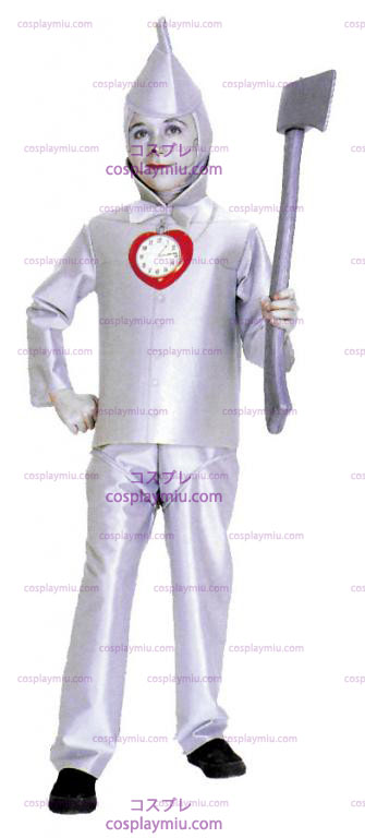 Wizard Of Oz Tin Man Child Kostymer