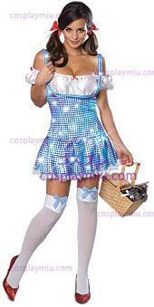 Secret Wishes Wizard Of Oz Sparkle Dorothy Adult Kostymer
