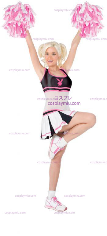 Playboy Cheerleader Adult Kostymer