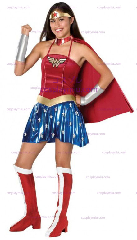 Wonder Woman Teen Kostymer