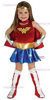 Wonder Woman Toddler Kostymer