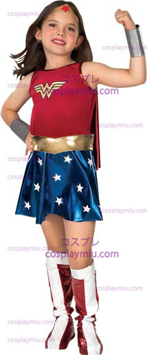 Wonder Woman Child Kostymer