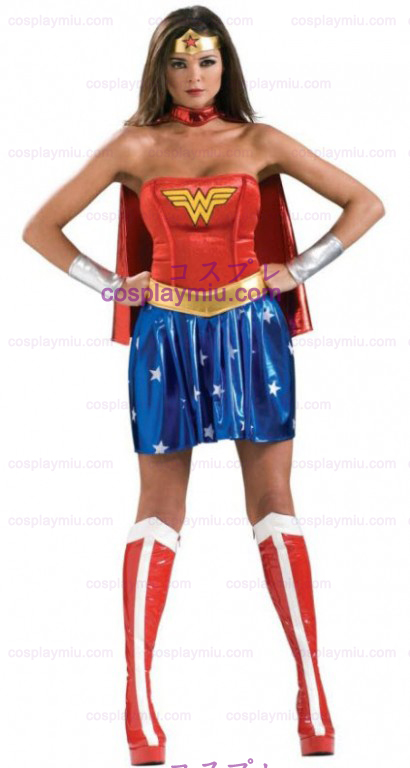 Secret Wishes Wonder Woman Adult Kostymer