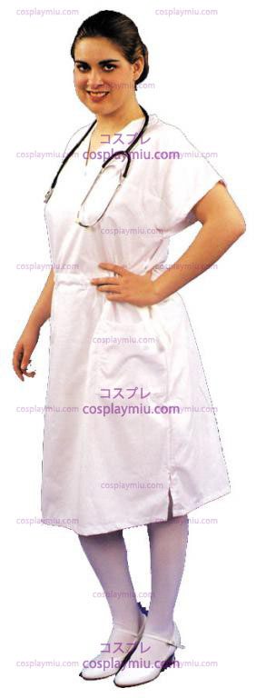 Sykepleier Scrub Dress Adult Kostymer