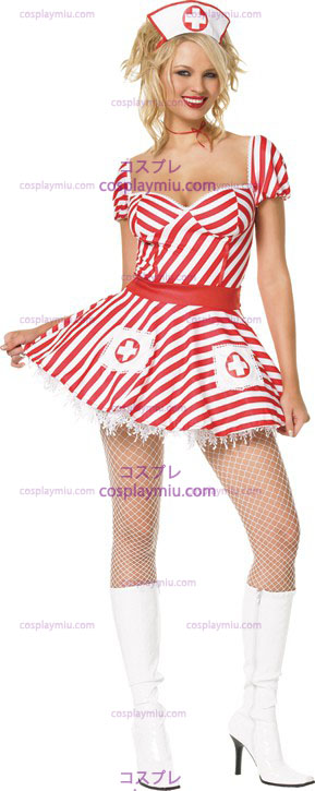 Candy Striper Sexy Adult Kostymer