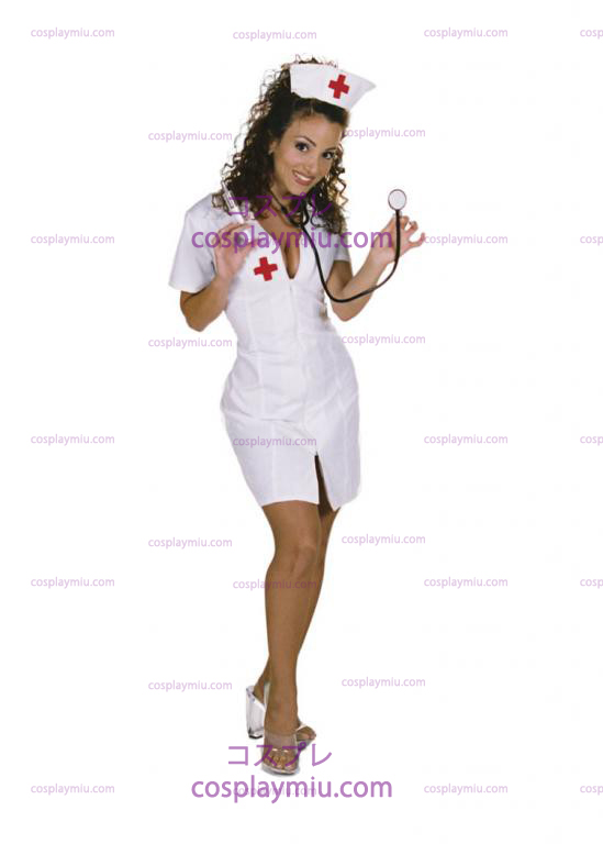 Hot Flash Nurse Adult Kostymer