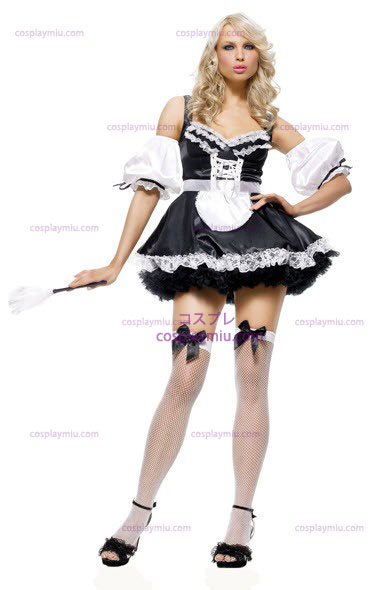 French Maid Sexy Adult Kostymer