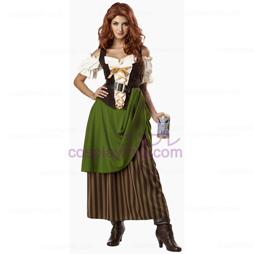 Tavern Maiden Adult Kostymer