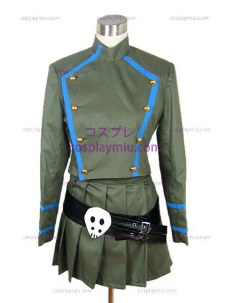 Skull Hitman Reborn Chrome veileder uniform drakt