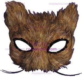 Mask Cat Feather Natural