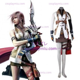 Final Fantasy XIII Lightning Cosplay kostyme til salgs