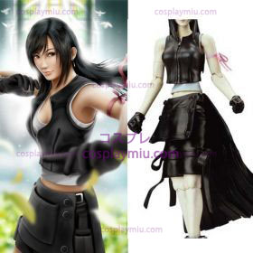 Final Fantasy VII Tifa Lockhart Cosplay Kostymer Hot Sale