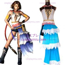 Final Fantasy XII Yuna Cosplay Kostymer billig salg