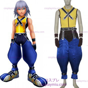 Kingdom Hearts 1 Riku menn Cosplay Kostymer