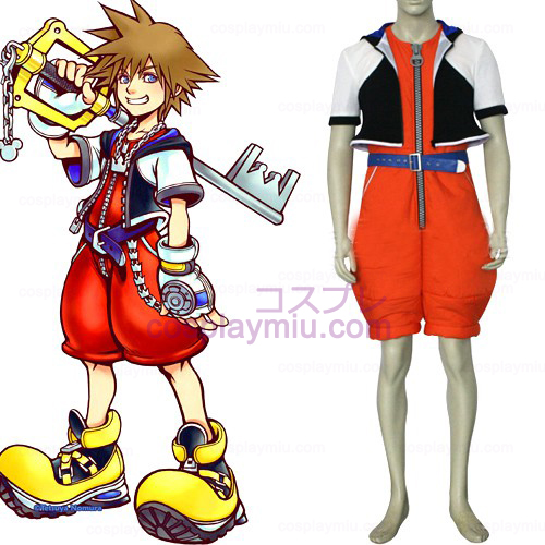 Kingdom Hearts 1 Sora menn Cosplay Kostymer