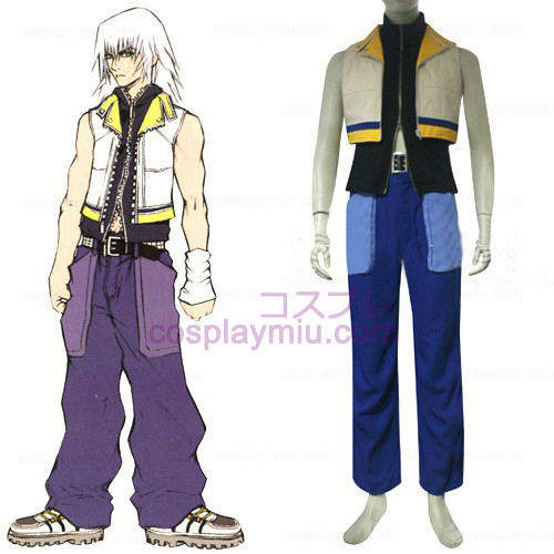 Kingdom Hearts 2 Riku menn Cosplay Kostymer