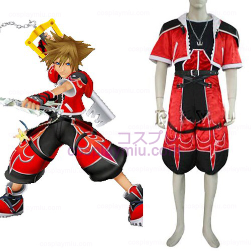 Kingdom Hearts 2 Sora Brave Form Cosplay Kostymer
