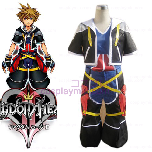 Kingdom Hearts 2 Sora menn Cosplay Kostymer