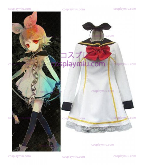 Vocaloid Cosplay Kostymer Uniform Dress