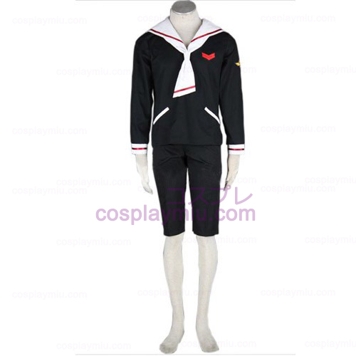 Cardcaptor Sakura Boys Winter Cosplay Kostymer