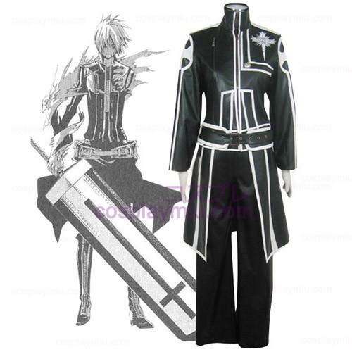 D.Gray Man Allen Walker Cosplay Kostymer