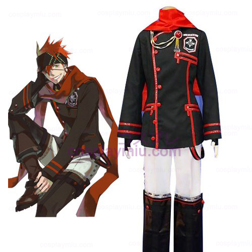 D.Gray Man Lavi Cosplay Kostymer