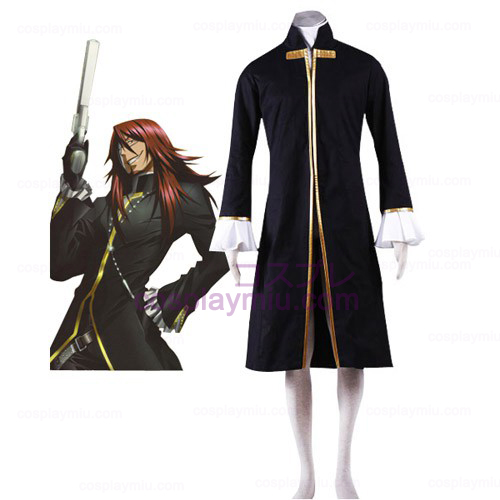 D.Gray Man Cross Maria Cosplay Kostymer