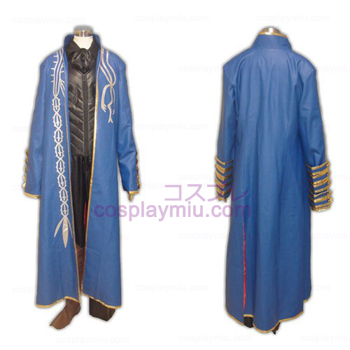 Devil May Cry III Vergil Cosplay Kostymer