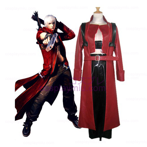 Devil May Cry 3 Dante Cosplay Kostymer