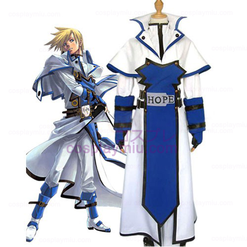 Guilty Gear Ky Kiske Cosplay Kostymer