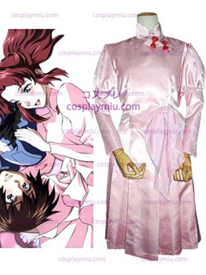 Mobile Suit Gundam SEED Flay Allster Cosplay Kostymer