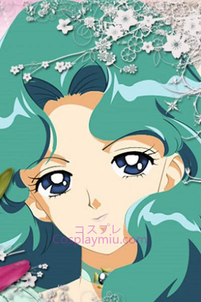 Sailor Moon Kaiou Michiru Sailor Neptune Cosplay parykk
